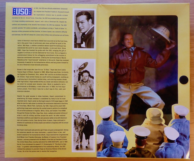 1998 Classic Collection – Hollywood Heroes – Bob Hope Bob5