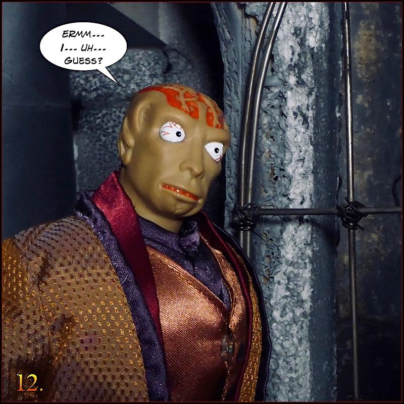 Don't you think the Dr Evil head  sculpt looks like Gangrene head sculpt ? - Page 2 Monevil12