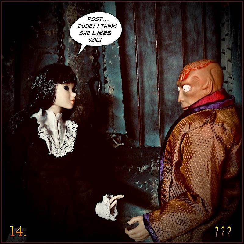Don't you think the Dr Evil head  sculpt looks like Gangrene head sculpt ? - Page 2 Monevil14