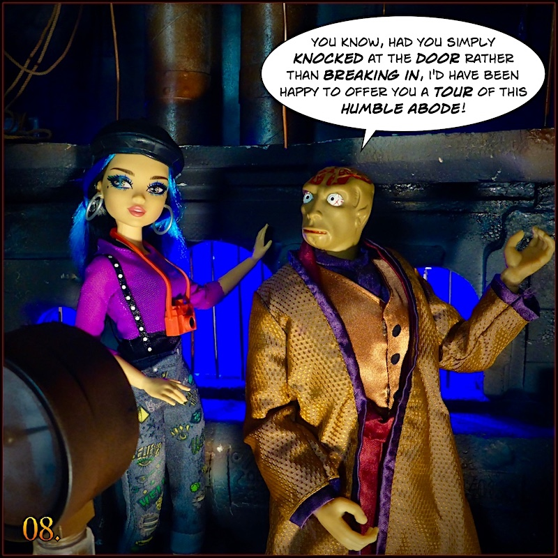 Don't you think the Dr Evil head  sculpt looks like Gangrene head sculpt ? - Page 2 Monevil8