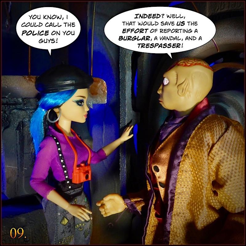 Don't you think the Dr Evil head  sculpt looks like Gangrene head sculpt ? - Page 2 Monevil9