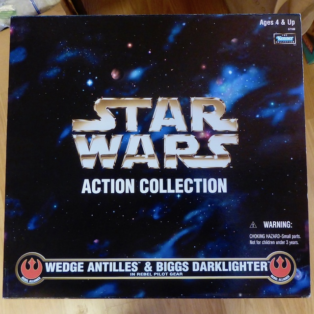 Hasbro STAR WARS Wedge Antilles and Biggs Darklighter Box Set 21april1