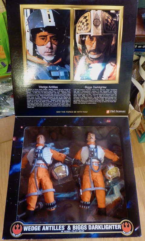 Hasbro STAR WARS Wedge Antilles and Biggs Darklighter Box Set 21april3