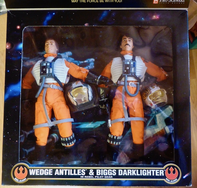 Hasbro STAR WARS Wedge Antilles and Biggs Darklighter Box Set 21april4