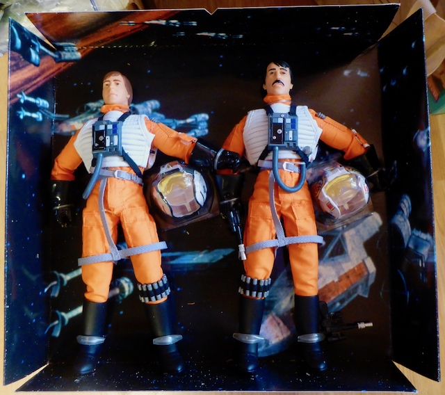 Hasbro STAR WARS Wedge Antilles and Biggs Darklighter Box Set 21april5
