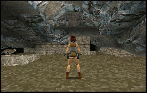 My Video Game Figures & Strategy Guides: Super Godzilla & Predator Games! Tomb-raider